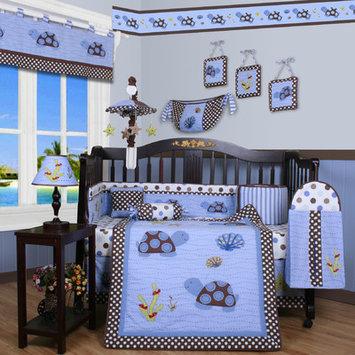 Zoomie Kids Krystina Polka Dot 13 Piece Crib Bedding Set