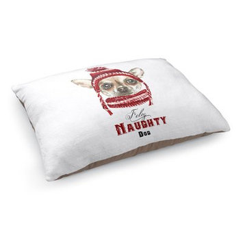 Kavka Feliz Naughty Dog Pillow