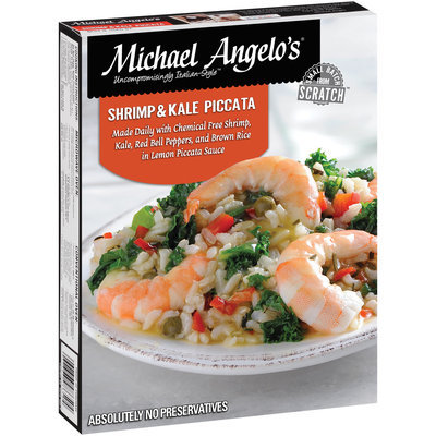Michael Angelo's® Shrimp and Kale Piccata 9 oz. Box