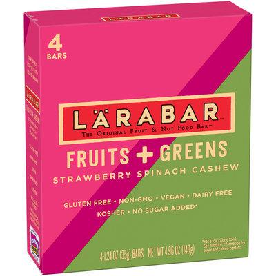 Larabar™ Fruits + Greens Strawberry Spinach Cashew Fruit & Nut Bars 4 ct Box