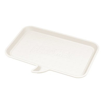 Iris Feed Me Feeding Mat Size: Small, Color: Ivory