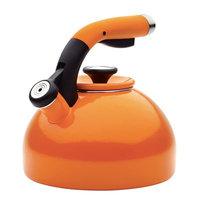 Circulon Enamel-on-Steel Teakettle Orange