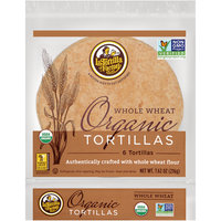 La Tortilla Factory™ Whole Wheat Organic Tortillas 7.62 oz. oz. Bag