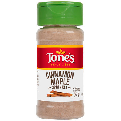 Tone's® Cinnamon Maple Sprinkle 3.39 oz. Shaker