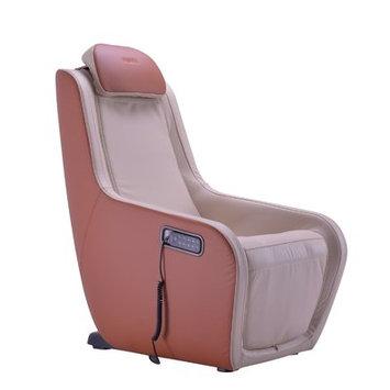 Latitude Run Heated Massage Chair Upholstery: Ivory/Caramel