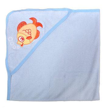 Tadpoles Fish Newborn Baby Hooded Colorful Bath Towel