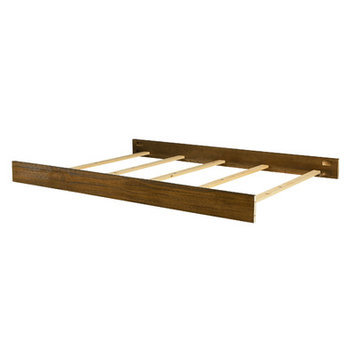 Bassett Furniture Brookdale Full Size Bed Rail - Rustic Brownstone