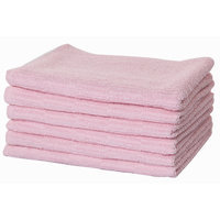 Puffy Towels Turkish Cotton Hand and Hair Towel Color: Pink