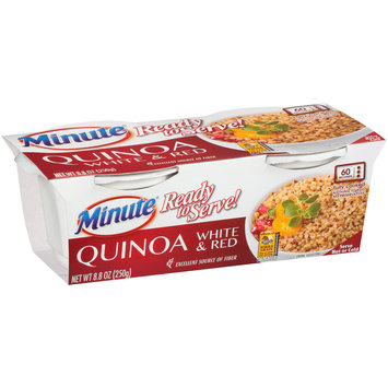 Minute® Ready to Serve! White & Red Quinoa 8.8 oz. Cup