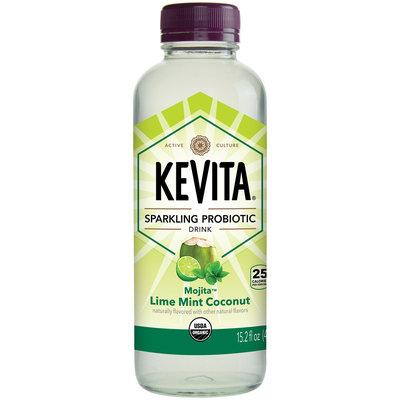 Kevita® Mojita™ Lime Mint Coconut Sparkling Probiotic Drink 15.2 fl. oz. Bottle
