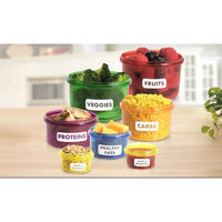 Eternal Control 14-Container Food Storage Set