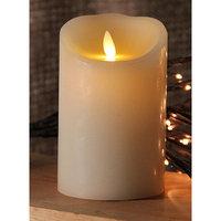 Gki/bethlehem Lighting 5 Ivory Luminara Flickering Flameless LED Lighted Outdoor Pillar Candle