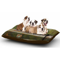 East Urban Home Steve Dix 'Diesel' Dog Pillow with Fleece Cozy Top