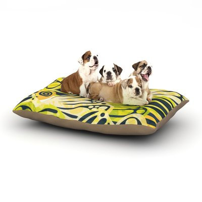 East Urban Home Anchobee 'Papalote' Dog Pillow with Fleece Cozy Top Size: Small (40