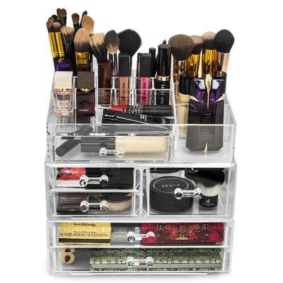 Rebrilliant 5 Drawer Cosmetic Organizer