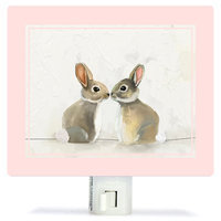 Oopsy Daisy Baby Bunnies by Cathy Walters Canvas Night Light