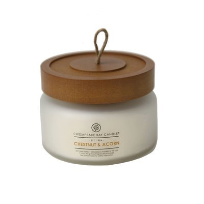 Chesapeake Bay Candles Heritage Chestnut and Acorn Glass Jar Candle Size: Small