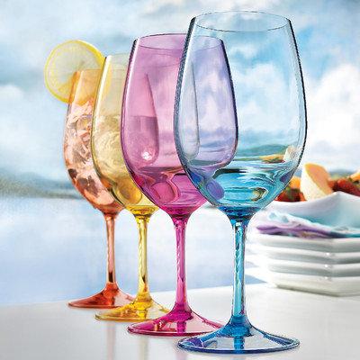 Latitude Run Wine Glass