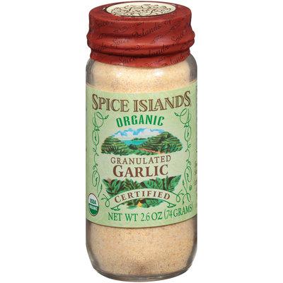 Spice Islands® Organic Granulated Garlic 2.6 oz. Jar