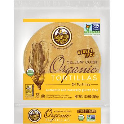 La Tortilla Factory® Street Taco Yellow Corn Organic Tortillas 8.46 oz. Bag