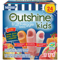OUTSHINE Kids Fruit & Veggie Variety Pack, Strawberry, 24 ct Box