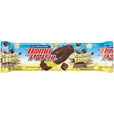 The Original Bomb Pop Jr.® Banana Fudge Frozen Dairy Confection 1.75 fl. oz. Wrapper