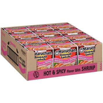 Maruchan® Instant Lunch™ Hot & Spicy Flavor with Shrimp Ramen Noodle Soup 1 Cups