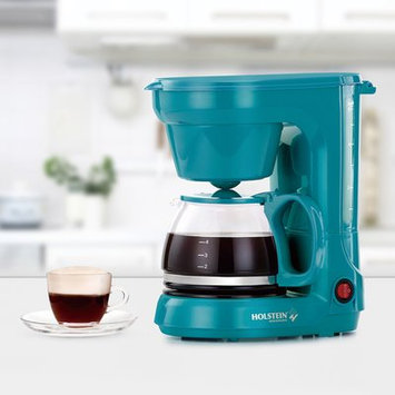 Holstein Housewares 6 Cup Coffee Maker Color: Teal
