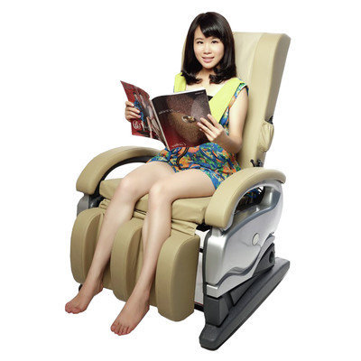 Newacme Llc Exacme Electric Full Body Shiatsu Massage PU Leather Chair 8881CW