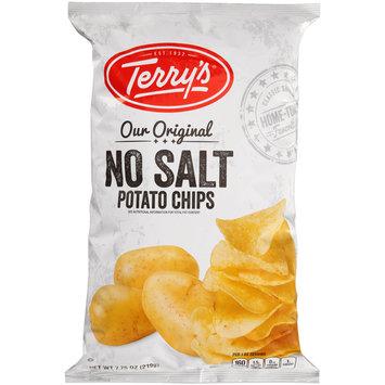 Terry's® Our Original No Salt Potato Chips 7.75 oz. Bag