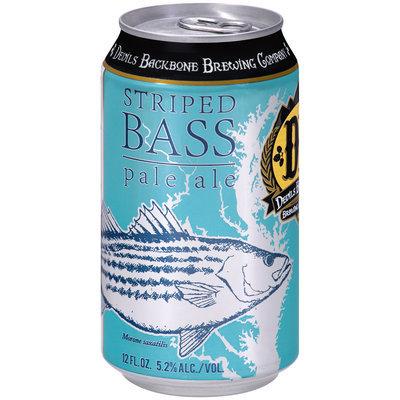 Devil's Backbone Brewing Company Striped Bass Pale Ale Beer 12 fl. oz. Can