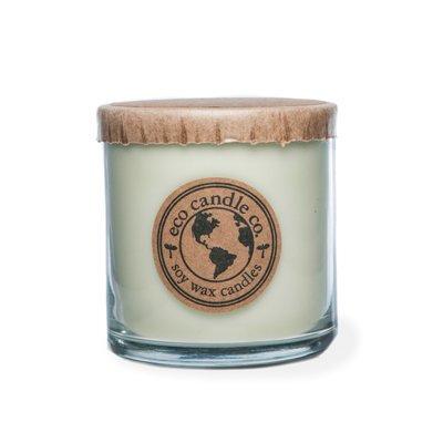 Ecocandleco Lemongrass Sage Soy Jar Candle Size: 3
