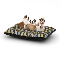 East Urban Home Julie Hamilton 'Moss Canopy' Dog Pillow with Fleece Cozy Top Size: Large (50