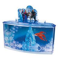 Penn Plax - Disney Frozen Aquarium 0.7 Gallon Betta Fish Tank with 4 Resin Characters