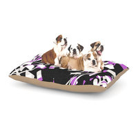 East Urban Home Gabriela Fuente 'Night' Dog Pillow with Fleece Cozy Top Size: Small (40