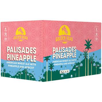 Golden Road Brewing Palisades Pineapple Beer 6-12 fl. oz. Cans