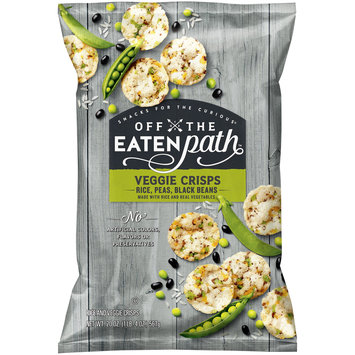 Off the Eaten Path™ Rice, Peas, Black Beans Veggie Crisps 20 oz. Bag