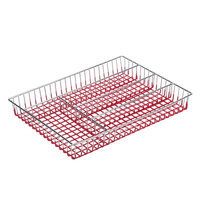 Rebrilliant Cutlery Tray Color: Red