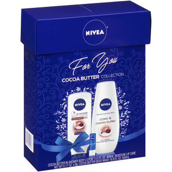 NIVEA® Cocoa Butter Collection Gift Set 3 pc Box