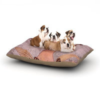 East Urban Home Suzanne Carter 'Prudence' Portrait Dog Pillow with Fleece Cozy Top Size: Large (50