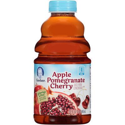 Gerber® Apple Pomegranate Cherry Juice 32 fl. oz. Bottle (Pack of 6)