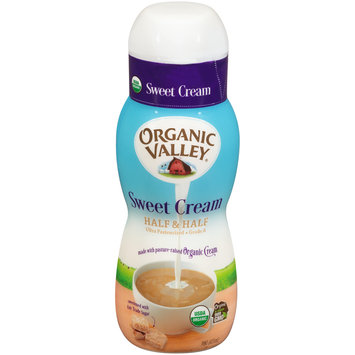 Organic Valley® Sweet Cream Half & Half 1 pint Bottle