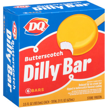 DQ® Butterscotch Daily® Ice Cream Bars