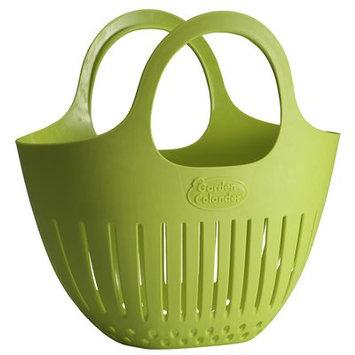 Hutzler Plastic Mini Harvest Garden Colander Color: Green