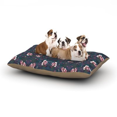 East Urban Home DLKG Design 'Cool Stitch' Dog Pillow with Fleece Cozy Top Size: Large (50