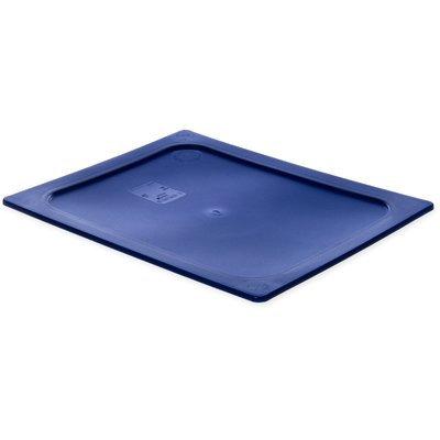 Carlisle 10232B60 Smart Lids Half Size Polyethylene Lid, Dark Blue