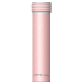 Adnart Skinny Mini 10 Oz. Water Bottle Color: Pink