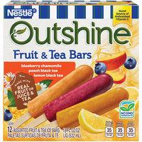 OUTSHINE Fruit & Tea Bars, Variety Pack, 12 ct Box
