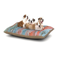 East Urban Home Susan Sanders 'Beach Dreams' Dog Pillow with Fleece Cozy Top Size: Small (40