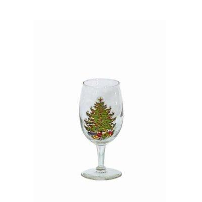 The Holiday Aisle Original Christmas Tree 7 oz. White Wine Glass